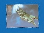 Stamps United Kingdom -  Avión de Combate de la RAF - De Havilland Mosquito