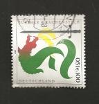 Stamps Germany -  Festival del Dragón