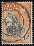 Sellos del Mundo : Oceania : Reino_Unido :  AGRICULTOR DE CACAO.