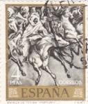 Sellos de Europa - España -  PINTURA- BATALLA DE TETUÁN (FORTUNY)  (9)