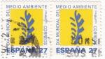 Stamps Spain -  DÍA MUNDIAL DEL MEDIO AMBIENTE (9)