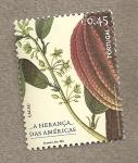 Stamps Europe - Portugal -  Herencia de América, Cacao