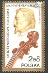 Stamps Poland -  2587 - Henryk Wieniawski, violinísta