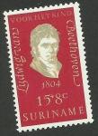 Sellos del Mundo : America : Surinam : Beethoven