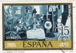 Stamps of the world : Spain :  LAS MENINAS DE PICASSO (9)