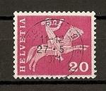 Stamps Switzerland -  Serie basica.