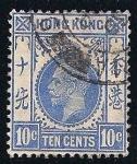 Sellos de Asia - Hong Kong -  Rey Jorge V.