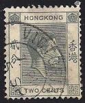 Sellos de Asia - Hong Kong -  Rey Jorge VI.