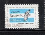 Sellos de America - Argentina -  Censo 80