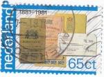 Sellos de Europa - Holanda -  CENTENARIO 1881-1981