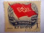 Stamps : Europe : Romania :  R.P. Romina