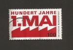 Sellos de Europa - Alemania -  Centenario del Día del Trabajo
