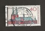 Stamps Germany -  800 Aniv. de la Catedral de Lübeck
