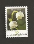 Sellos de Europa - Alemania -  Flor Campanillas
