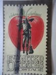 Stamps United States -  Johnny Appleseed