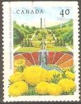 Sellos de America - Canadá -  JARDÌN  PÙBLICO  DE  LA  PAZ  INTERNACIONAL.  BOISSEVAIN,  MONITOBA.