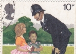 Stamps United Kingdom -  POLICIA Y NIÑOS