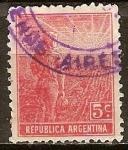 Sellos del Mundo : America : Argentina : Agrícola del trabajo.