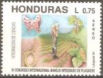 Sellos de America - Honduras -  INTEGRACIÒN  DE  CIENCIAS