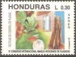 Sellos de America - Honduras -  TÀCTICAS  DE  CONTROL  DE  PLAGAS