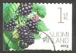 Stamps Finland -  Flora