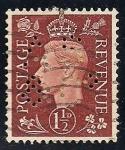 Sellos de Europa - Reino Unido -  REY JORGE VI