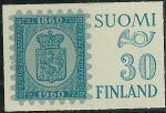 Stamps Finland -  Reproducción de la primera emisión