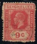 Sellos del Mundo : Africa : Seychelles : REY JORGE V