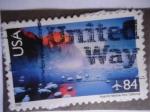 Stamps United States -  U.S. Postage-Yosemite National Park California - Parquy Nacional de Yosemite,California