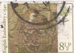 Sellos de Europa - Reino Unido -  BORDADO INGLES C 1340