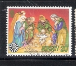 Stamps Europe - Jersey -  Pesebre del Mercado Central, Mesa Redonda de Jersey