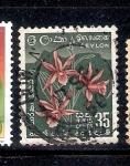 Sellos del Mundo : Asia : Sri_Lanka : Orquídea estrella