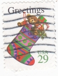 Stamps United States -  GRECTINGS