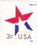 Stamps United States -  ESTRELLA