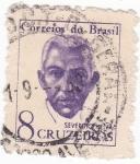 Stamps Brazil -  SEVERINO NEIVA- PRIMER DIRECTOR GENERAL DE CORREOS