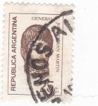 Stamps : America : Argentina :  GENERAL JOSE MARTÍN