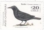Sellos de America - Chile -  AVE- TORDO