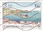 Sellos de Europa - Croacia -  PANORÁMICA DE ZRINSKI