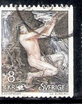 Sellos de Europa - Suecia -  Necken, el espíritu del agua