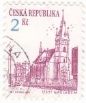 Sellos de Europa - República Checa -  CIUDAD DE USTÍ NAD LABEM