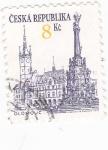 Sellos de Europa - República Checa -  CIUDAD DE OLOMOUC
