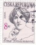 Sellos de Europa - República Checa -  EMA DESTINNOVÁ- CANTANTE DE OPERA 1878-1930