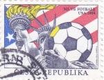 Stamps Czech Republic -  COPA MUNDIAL DE FUTBOL USA-94