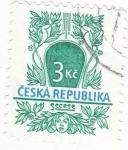 Sellos de Europa - República Checa -  ILUSTRACIONES