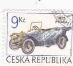 Stamps Czech Republic -  COCHE DE ÉPOCA 1923-