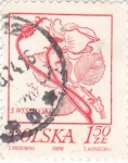 Stamps Poland -  FLORA