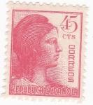 Stamps : Europe : Spain :  Alegorías de la República  (10)