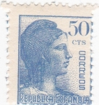 Stamps : Europe : Spain :  Alegorías de la República  (10)