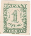 Stamps Spain -  CIFRAS (10)