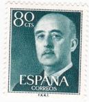 Sellos del Mundo : Europa : España : General Franco (10)